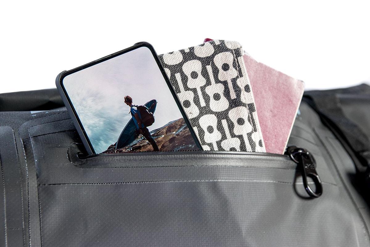 DryTide-waterproof-duffel-bag-external-pocket