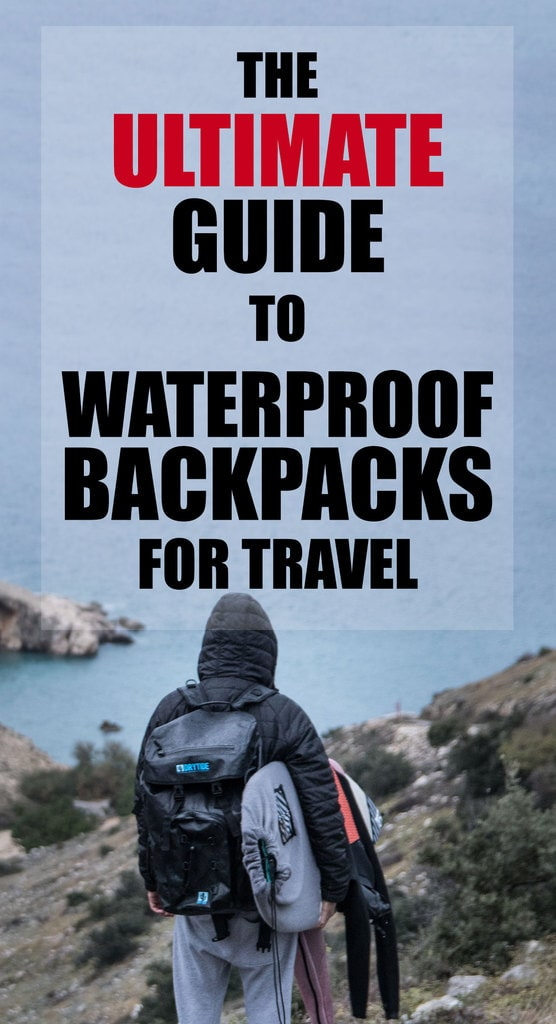 Waterproof travel backpack guide