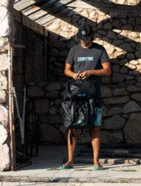 drytide brand tee kayak trip