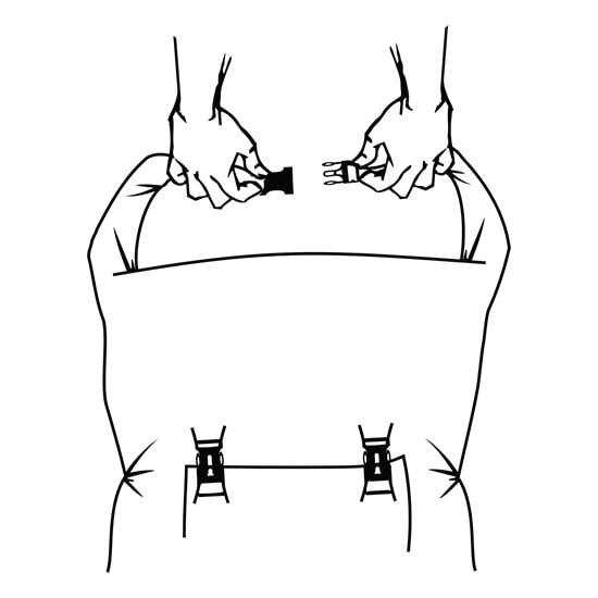 Instructions Drytide Waterproof Backpacks