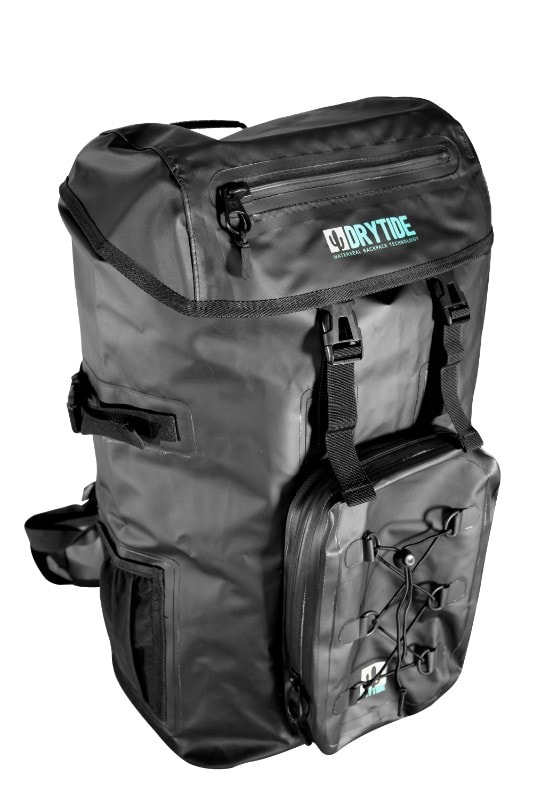 Waterproof laptop backpack for travel
